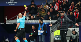Klopp gives assessment of UCL referee as Liverpool boss explains yellow card