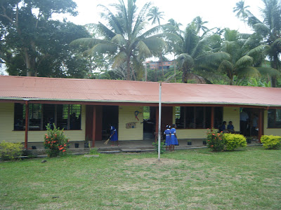 school on an island