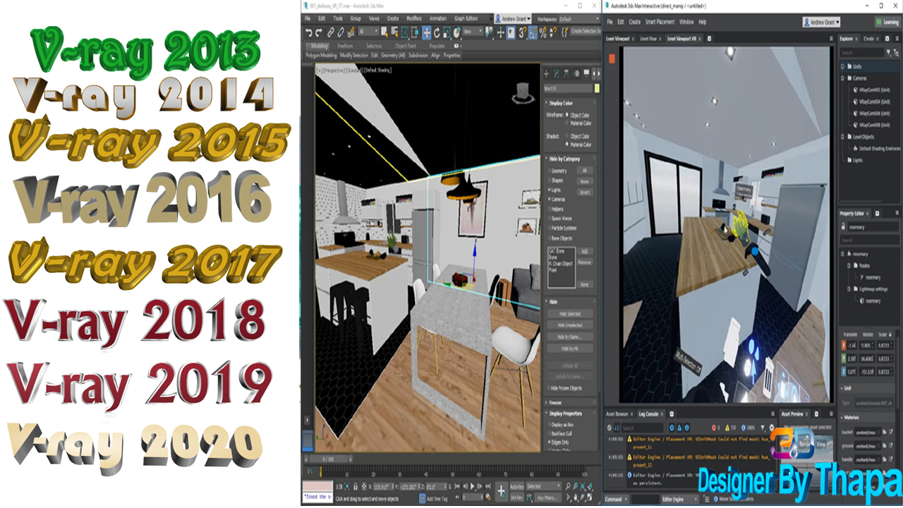 Cheap Chaos Group V-Ray for 3DS Max 3.2