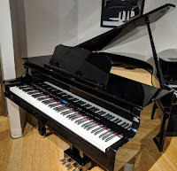 Roland GP609 hybrid digital grand piano