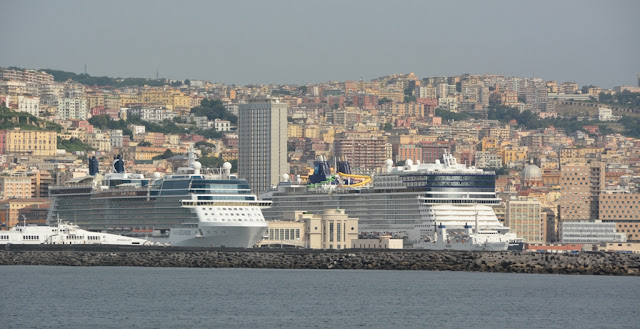 Port of Naples Italy