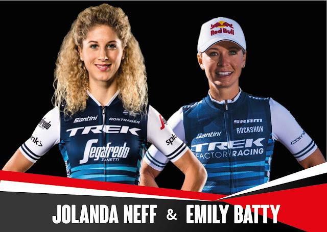 Emily Batty y Jolanda Neff