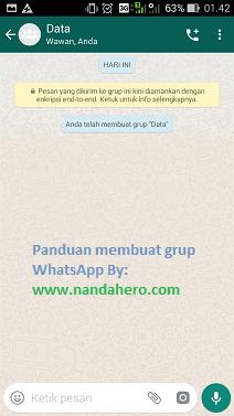 cara membuat grup whatsapp 2019