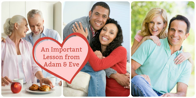 The story of Adam and Eve contains an important message for wives. This short devotion explains. #Marriage #Bible