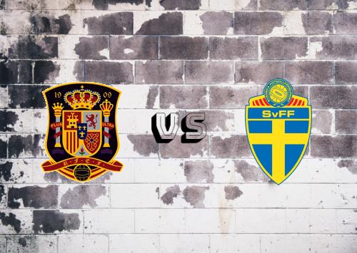 España vs Suecia  Resumen y Partido Completo