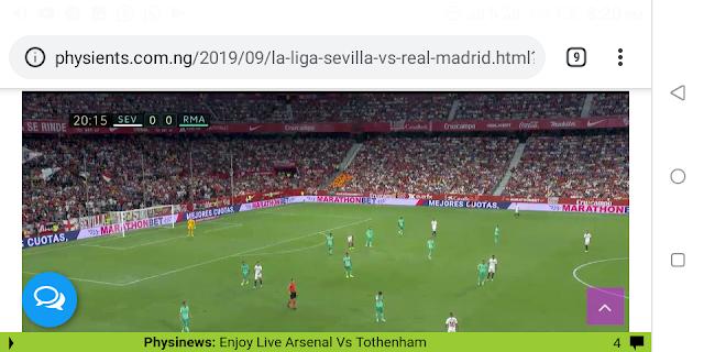 ⚽️⚽️⚽️  La-Liga: Live Sevilla Vs Real Madrid Ultra HD   ⚽️⚽️⚽️
