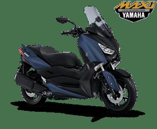 Yamaha Xmax Matte Blue, Harga Yamaha Xmax, Kredit Motor Yamaha Xmax, Price List Yamaha Xmax, Promo Yamaha Xmax