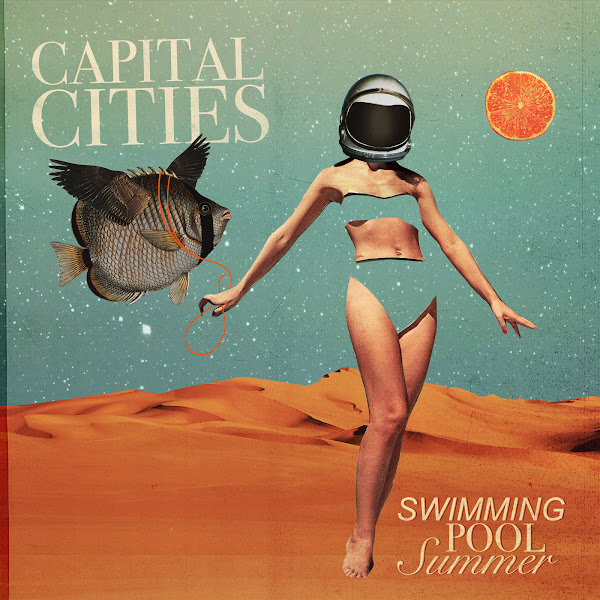 Capital Cities - Swimming Pool Summer - EP Cover