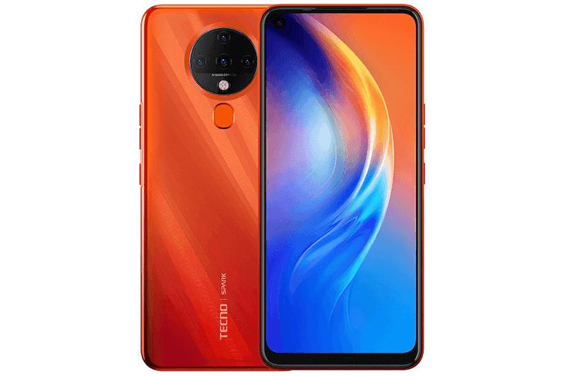 Dynamic Orange TECNO Spark 6