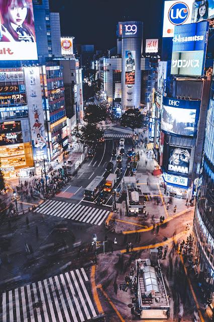 渋谷,夜景,展望台