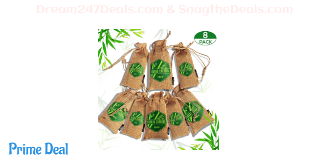Bamboo charcoal air purifying bags 40%OFF