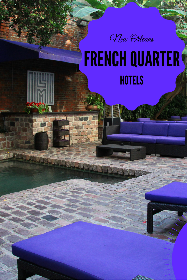 the french quarter s new orleans hotel collection travel. Black Bedroom Furniture Sets. Home Design Ideas