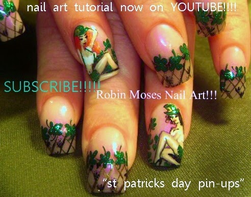 St Patrick S Day Nail Art Gallery By Robin Moses