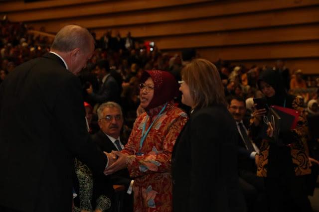 Presiden Erdogan Mengaku Terinspirasi Keberhasilan Bu Risma di Surabaya