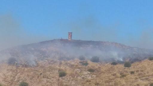 Θεσπρωτία: Φωτιά και στην περιοχή του Παλαμπά στα Ελληνοαλβανικά σύνορα