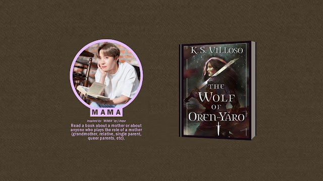 Jung Ho Seok MAMA Prompt - Read a book about a mother or about anyone who plays the role of a mother