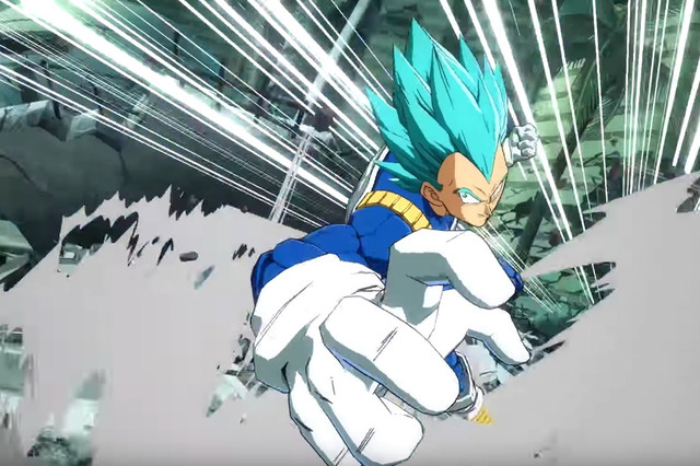 Dragon Ball Super Saiyan Blue - Vegeta SSGSS