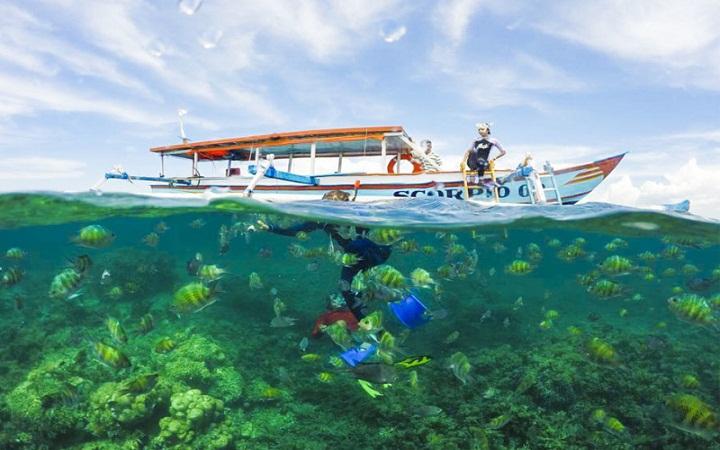 Rute beserta tarif ke Gili Nanggu Lombok