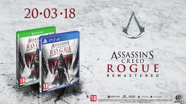 الإعلان رسميا عن نسخة ريماستر Assassin's Creed Rogue لأجهزة PS4 / Xbox One و إليكم تفاصيل محتواها ...