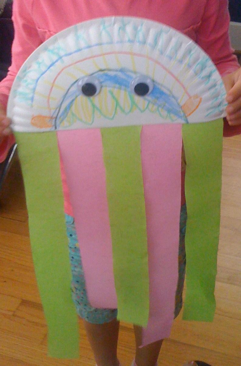 Gluten Free Allergy Friendly Craft Complete Diy Jellyfish Craft
