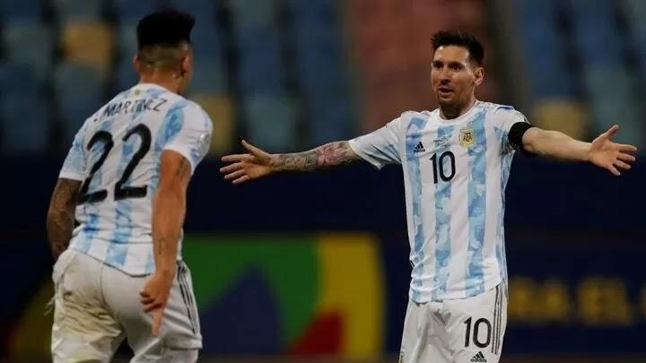 Messi: Argentina got through a tough match and took a step forward