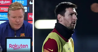 Koeman on Messi chance against  Rayo Vallecano