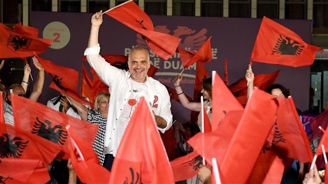 People in Albania voting in parliamentary elections with EU membership hopes