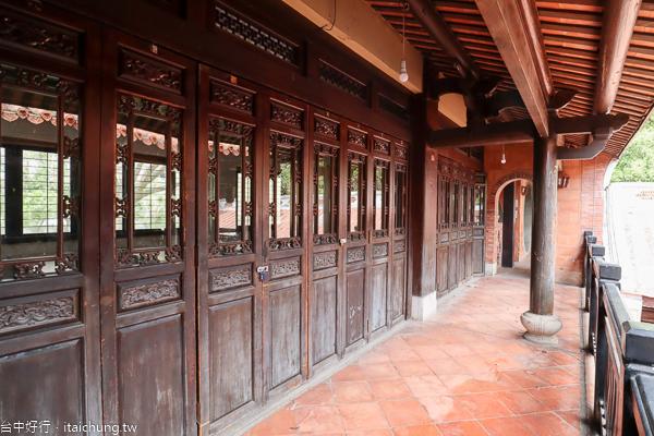 台中民俗公園(台灣民俗文物館),全台首座傳統閩南式建築的公園
