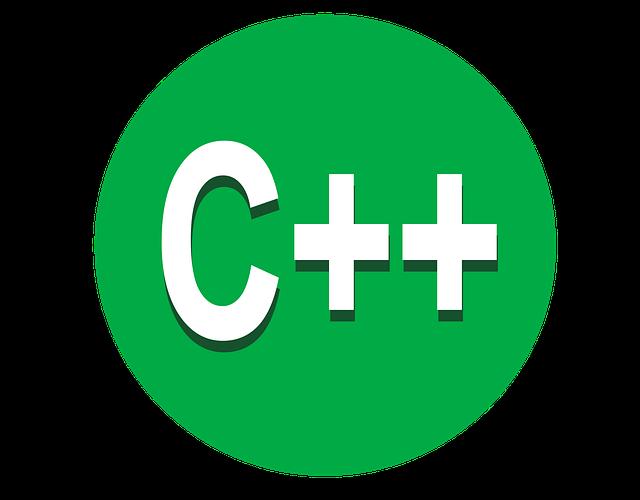 A green C++ icon.