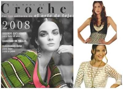 Revista arte crochet 2008 patrones exclusivos