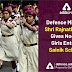 Defence Minister Shri Rajnath Singh gives nod for girls entry in Sainik Schools