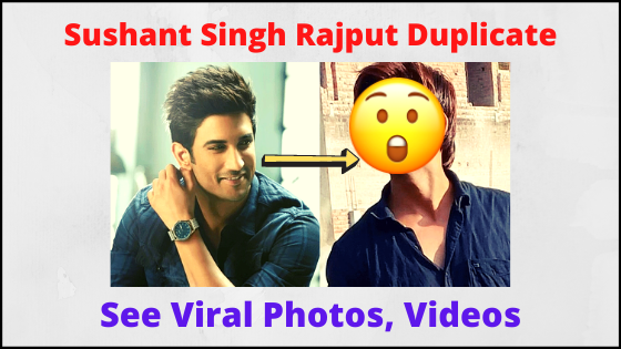 Sushant Singh Rajput Look Like Duplicate Sachin Tiwari, See Viral Photos Now