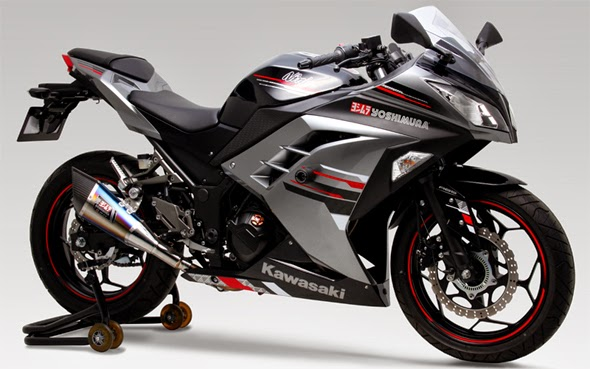 Gambar Modifikasi Kawasaki Ninja 250 Hijau