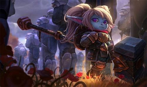 Tướng Poppy nổi trội hơn nhiều trong vòng loại game đấu Đột kích nhà chính