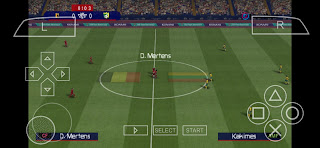 PES 2022 PPSSPP Download । PES 22 ISO File PS5 Camera
