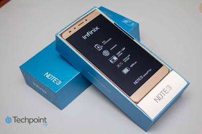Harga dan Spek Infinix Note 3 X601