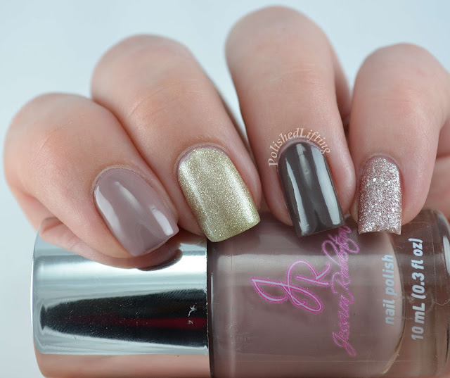 Jessica Robertson Nail Polish Taupe Totally Taupe Satin Champagne Champagne Sand