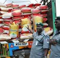 NCS SEIZED 3,309 BAGS OF FOREIGN RICE FROM SMUGGLERS IN KATSINA
