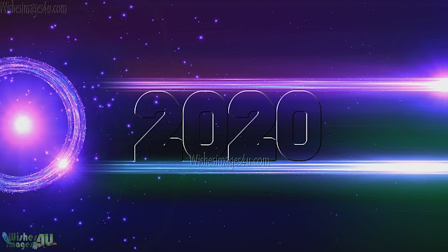 Happy New Year 2020 Sparkling HD Images Download Free
