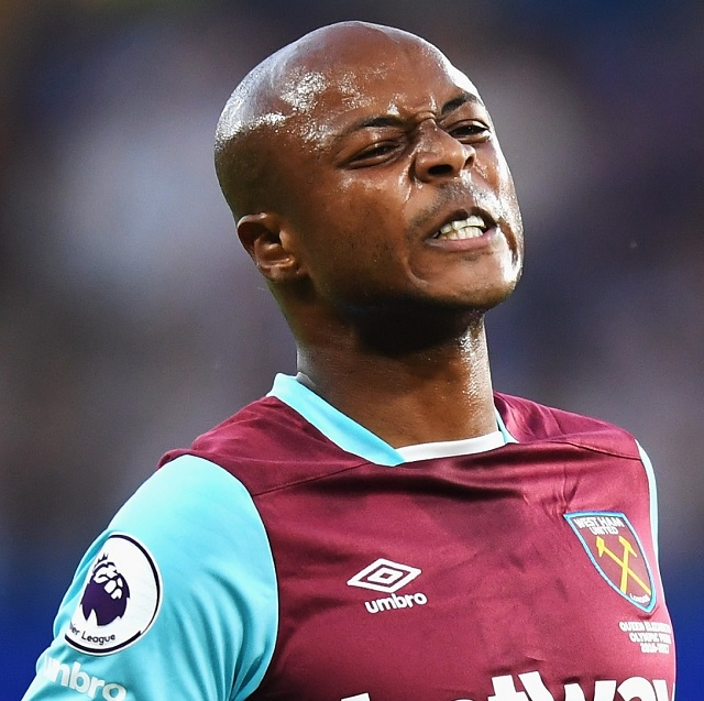 West Ham United's David Moyes ready to sell Andre Ayew