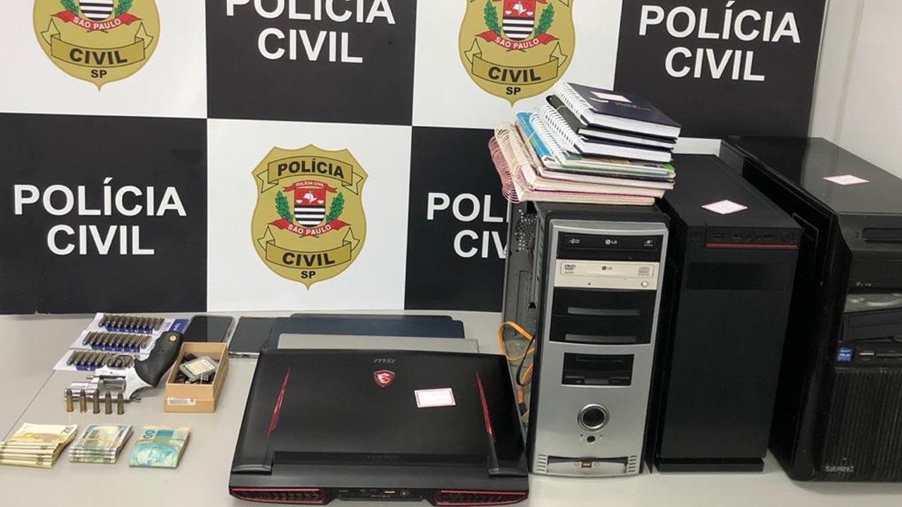 Polícia Civil descobre fraudes em corretoras para compra e venda de moedas virtuais