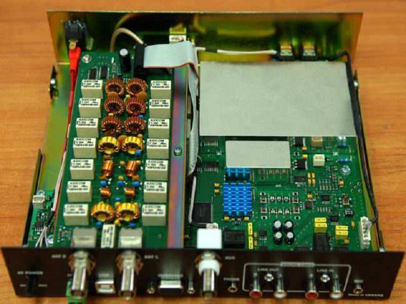 SA7BOA: SDR-2000 UA (ver 2 0) HF/50MHz All mode SDR