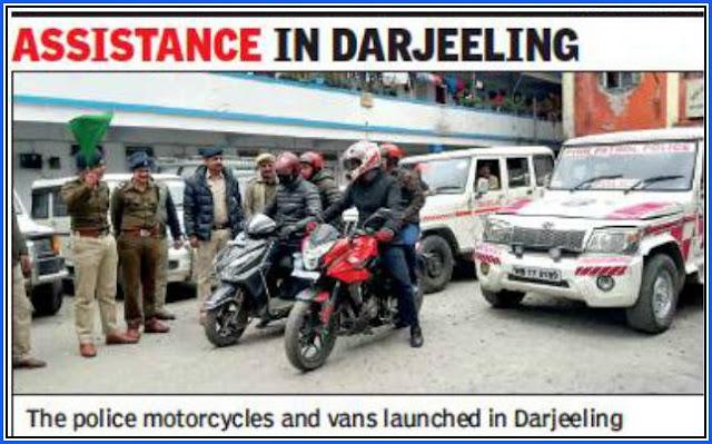 Police helpline in Darjeeling