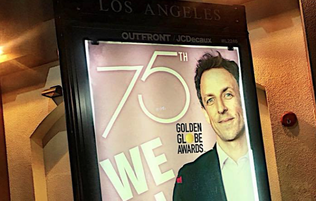 PHOTOS: 'We All Knew' street art welcomes Hollywood elites to Golden Globes