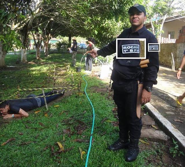 Sem ser policial, assessor de deputado de RO anda em viaturas da PM e usa uniforme