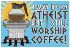 Atheist coffee
