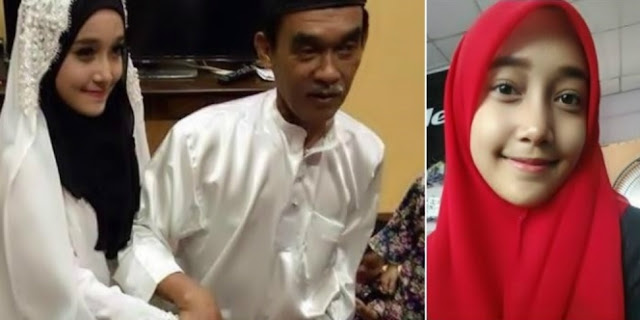 Gadis Cantik 18 Tahun Dinikahi Duda 66 Tahun