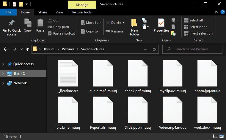 Muuq File Virus