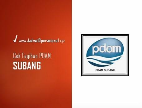 Cek Tagihan PDAM Subang