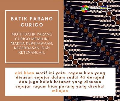 makna motif batik parang curigo